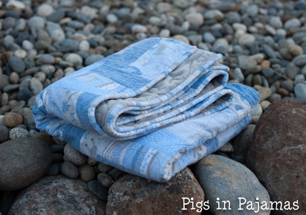 Baby boy woodland creature flannel quilt 30506097690 o