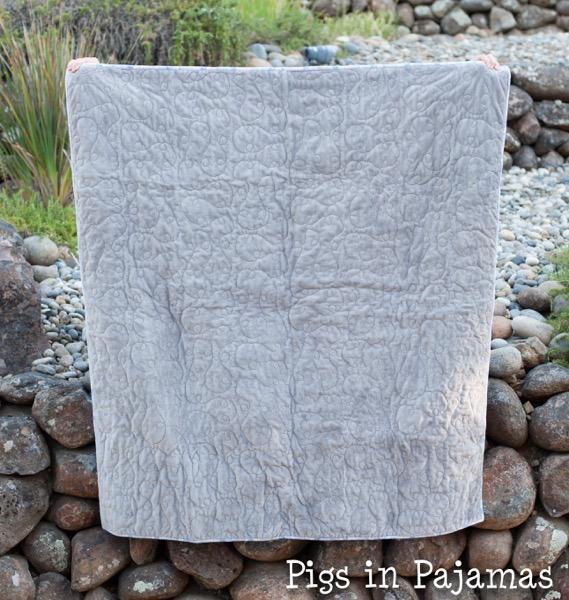 Baby boy woodland creature flannel quilt 30689934392 o