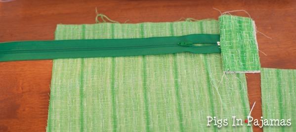 Green ditty bag zipper 11038901455 o