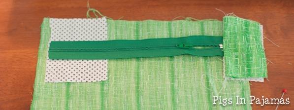 Green ditty bag zipper 11038905125 o