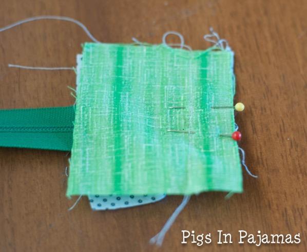 Green ditty bag zipper 11039081313 o