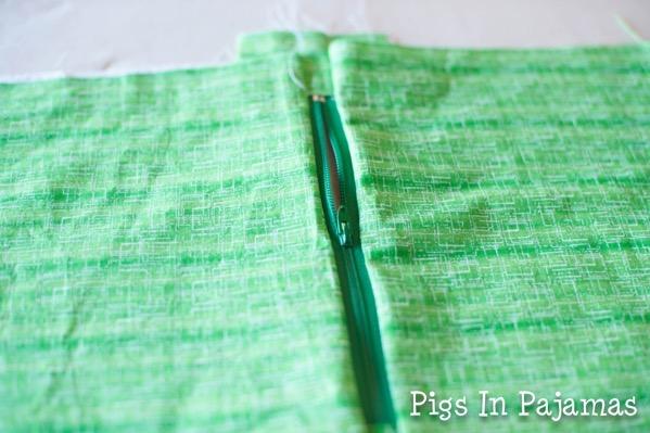 Green ditty bag zipper 11039140323 o