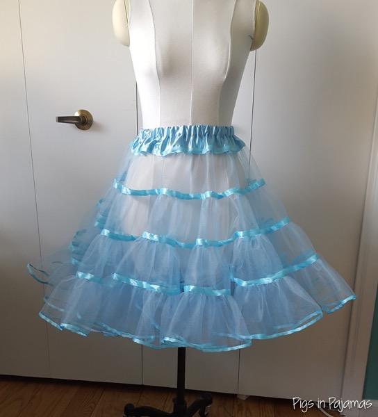 Blue petticoat 1