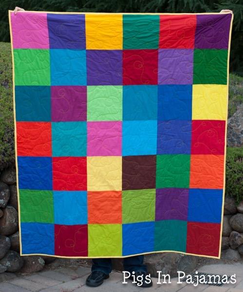 Bright squares quilt 19468972379 o