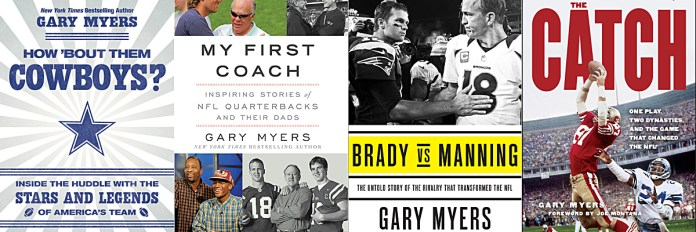 Gary Myers book covers