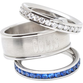 Colts Stacked Ring Set