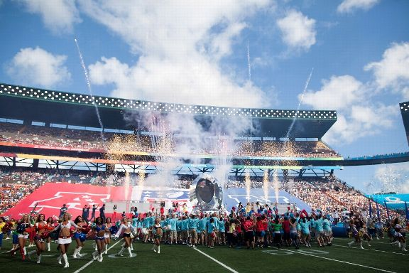 The 2013 Pro Bowl in Honolulu, HI (Photo: Getty)