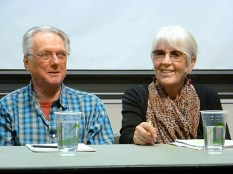 George Stanley & Joanne Kyger (Photo © Linda Crosfield)