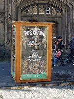Just the thing - a pub crawl