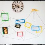 Jak na to: DIY geometrická provázková nástěnka