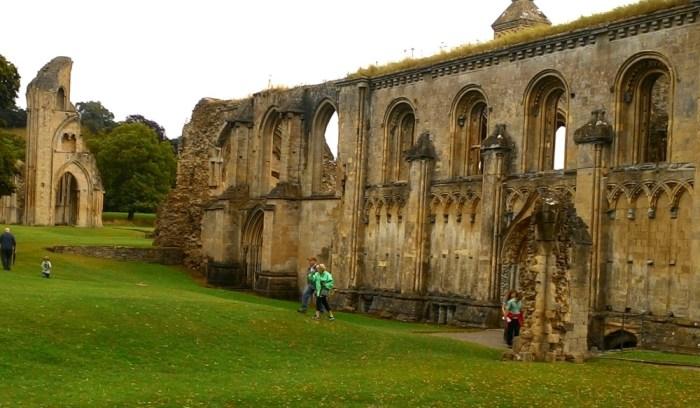Ruiny Glastonburského opatství