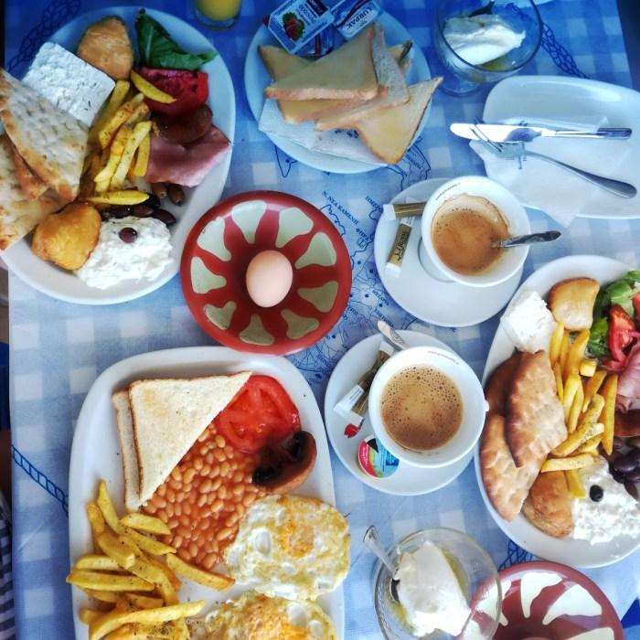 Řecká snídaně
