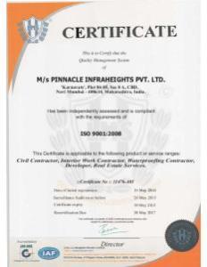 PIHPL ISO 9001 2008
