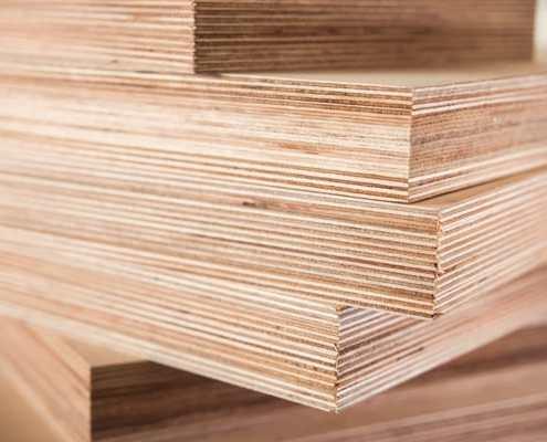 Plywood core