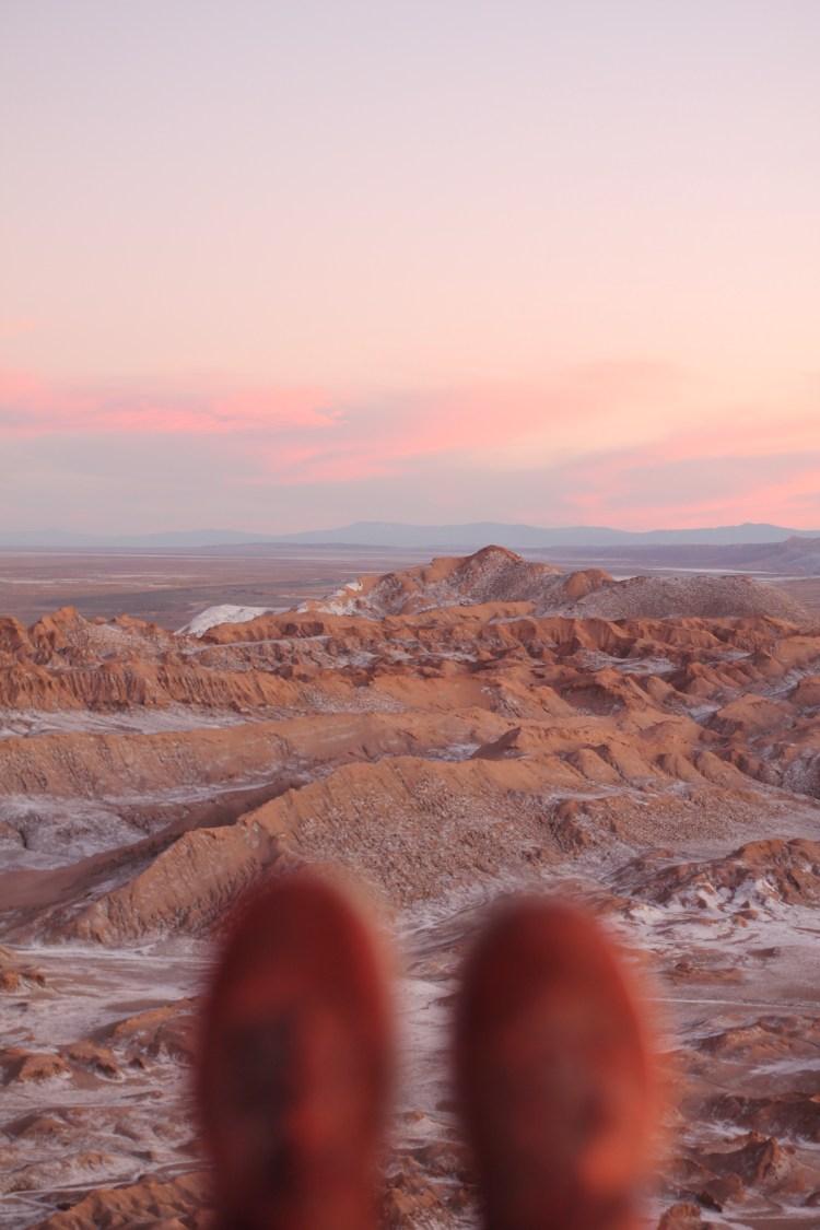Atacama Desert Sunset