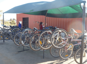 King's Daughters Bicycle Shop in Katutura, Windhoek