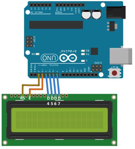 Interfacing of Alphanumeric 16x2 LCD with Arduino