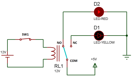 Relay working