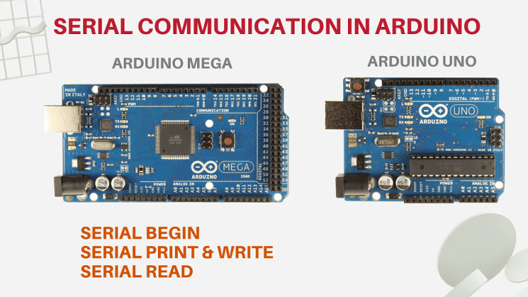 serial communication in arduino