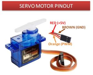 Servo Motor pinout