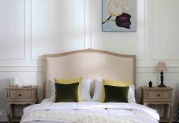 A bedroom furnished with the French classic style for export