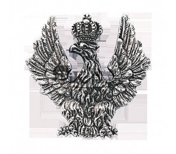 Przypinka z orłem na ładownicę z XIX wieku