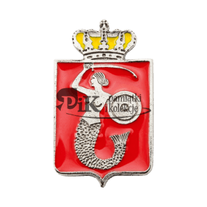 Przypinka z herbem Warszawy