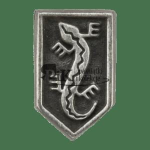 Przypinka Organizacji Wojskowej Związku Jaszczurczego