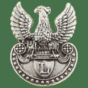 Przypinka z orłem legionowym