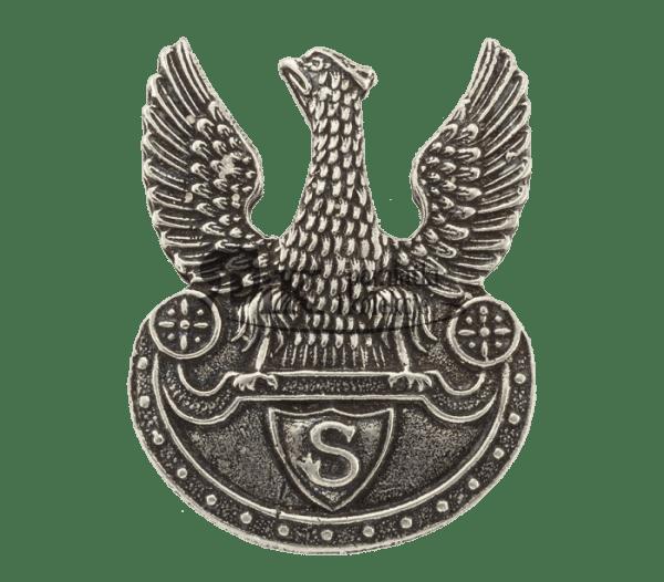 Przypinka z orłem strzeleckim