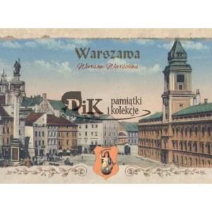 Pocztówka Plac Zamkowy w Warszawie z XIX i XX wieku