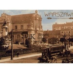 PocztówkaKrakowskie Przedmieście w Warszawie z XX wieku
