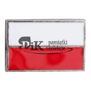 Przypinka polskia flaga