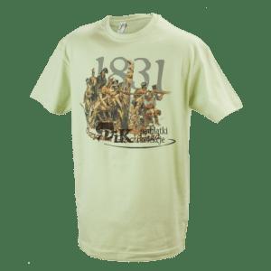 Koszulka bitwa pod Olszynką Grochowską - powstanie listopadowe v2