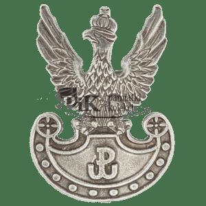 Orzeł wojskowy wz. 19 z symbolem Polski Walczącej na tarczy amazonek