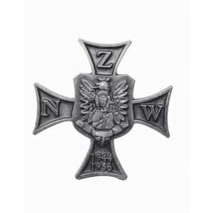 Pamiątkowa odznaka Narodowego Zjednoczenia Wojskowego -KRZYŻ NZW