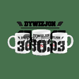 Kubek Dywizjon 303 +szachownica lotnicza