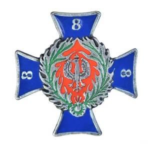 8 Bat. Strzelców Brabanckich 1 Dyw. Panc. Wym.: 39 x 39 mm,
