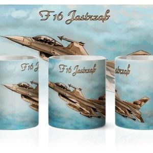 Kubek poświęcony F16 Jastrząb