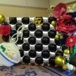 バルーンでイベントのデコレーション★ペーパーなど異なった素材を使っての装飾例
