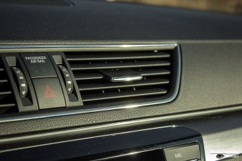 Skoda Superb air vents