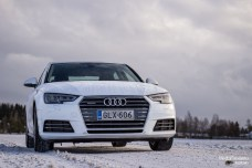 Audi A4 front