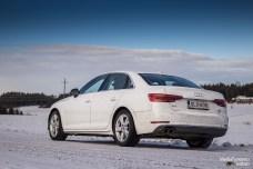 Audi A4 rear