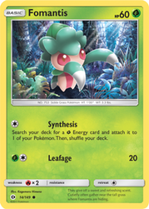 fomantis-card