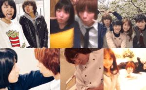 永野芽郁が映画「ピーチガール」で共演した伊野尾慧・山本美月・真剣佑たちと撮って流出してしまったプライベート写真の画像