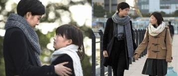 佐久間由衣と伊藤沙莉のドラマ「トランジットガール」での画像