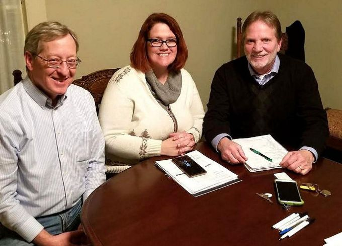 New Officers of the Board of Directors of Pike County Hands of Hope