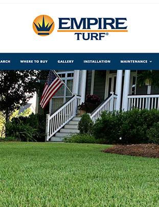 EMPIRE Turf Website