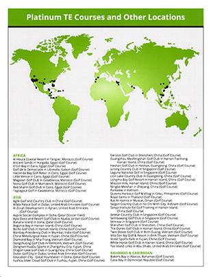 Platinum TE™ Locations
