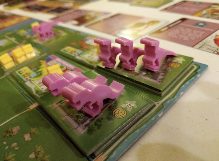 Board Game Review: Dinosaur Island
